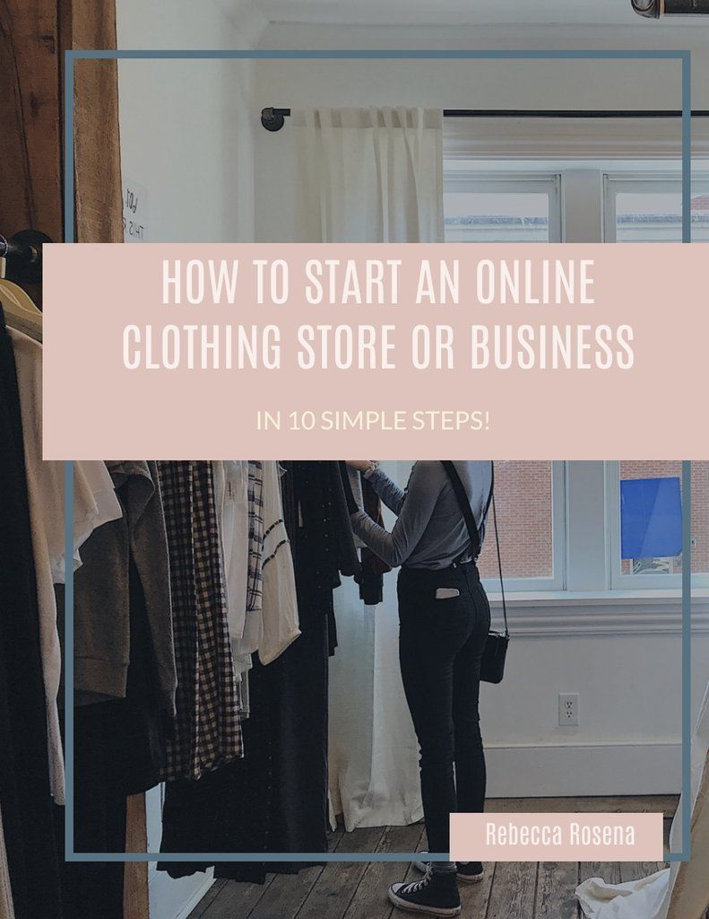How To Start An Online Clothing Store Or Business E Book Business Plan Template Online Clothing Stores Business Online Clothing Online Clothing Stores