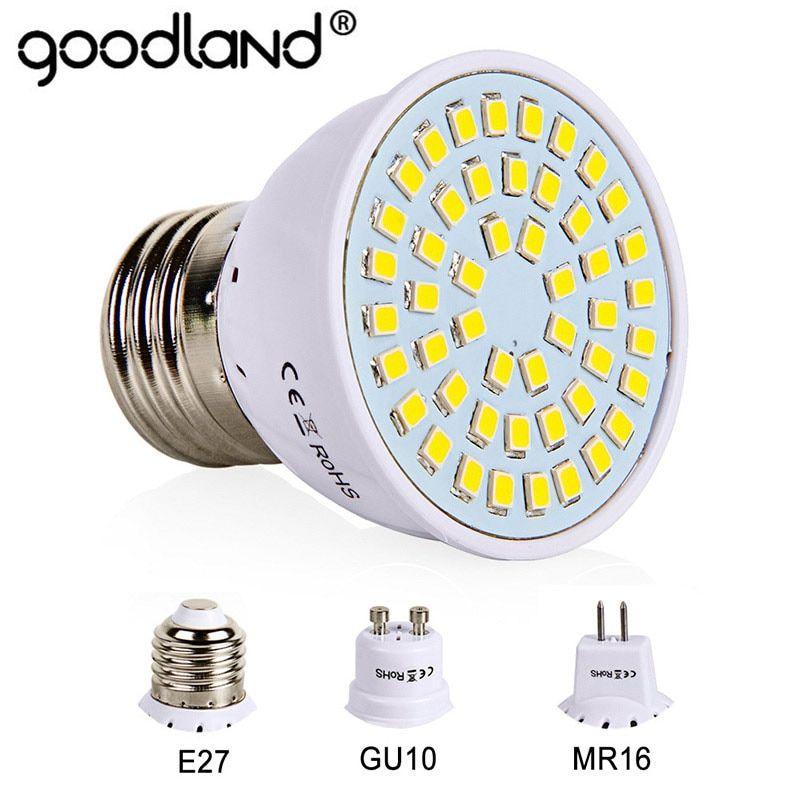 Universe Of Goods Buy E27 Led Bulb Gu10 Led Lamp 220v Smd 2835 Mr16 Spotlight 48 60 80leds Warm White Cold White Light Led Bulb Mr16 Led Bulbs Led Spotlight
