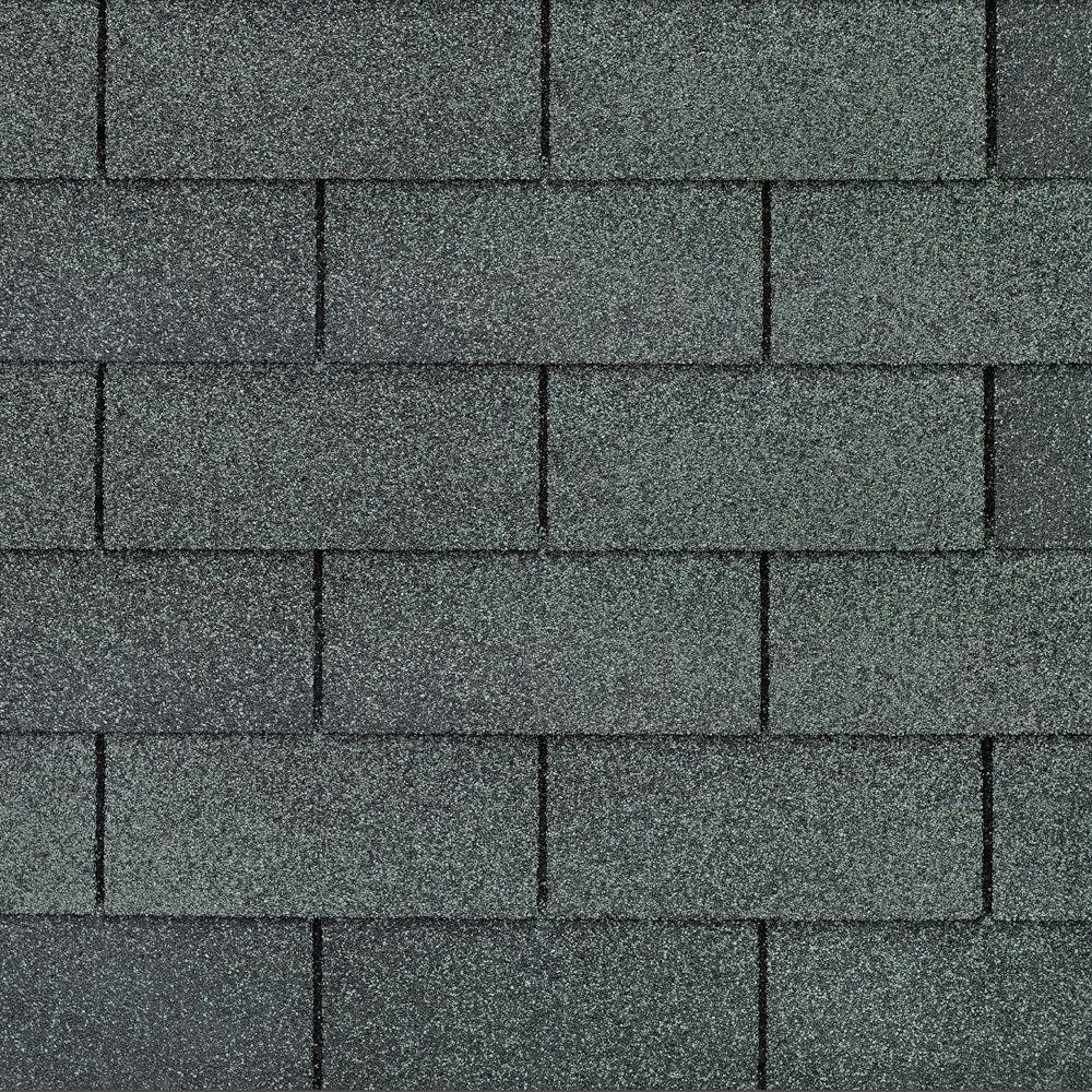 Gaf Royal Sovereign Slate Algae Resistant 3 Tab Roofing Shingles 33 33 Sq Ft Per Bundle 26 Pieces 0202750 The Home Depot Shingling Roof Shingles Architectural Shingles