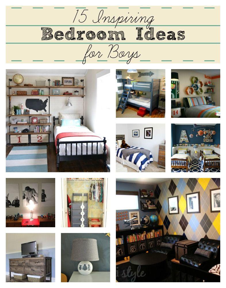 15 Inspiring Bedroom Ideas for Boys Home Decor DIY
