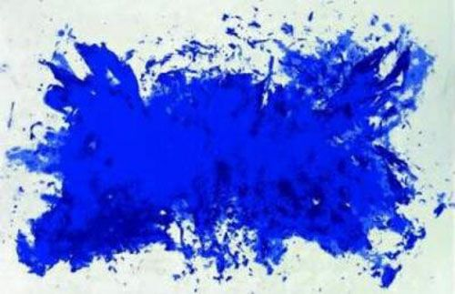 You can thank Yves Klein.