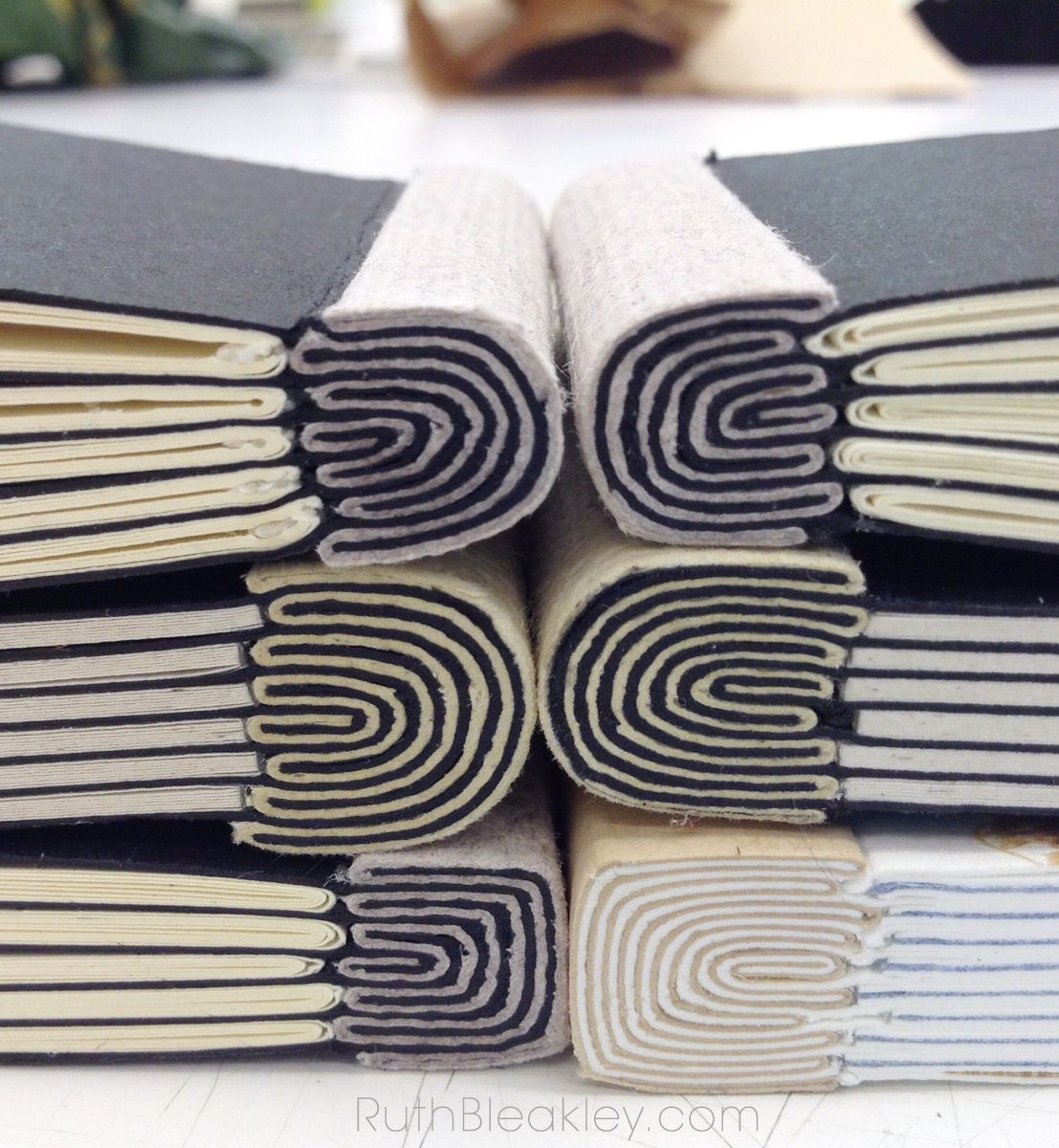 Photo of Onionskin Bookbinding class at Penland School of Crafts