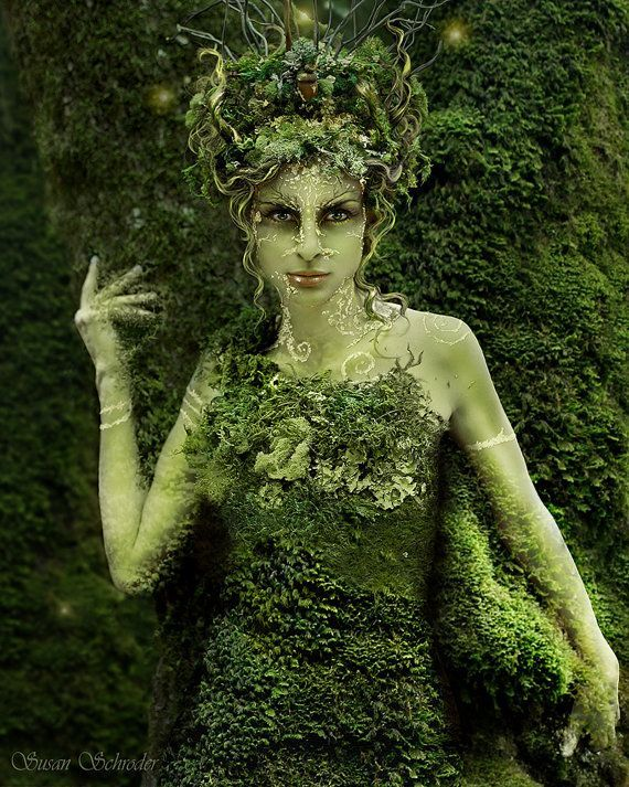 Photo of HedgeCreek Dryad Mythic Fantasy Kunstdruck von Susan Schroder – Inspiration: Fig…