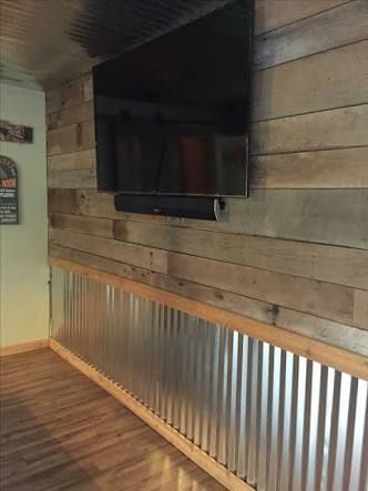 Image Result For Corrugated Aluminum Wall Panels Basement Remodeling Old Barn Wood Tin Walls