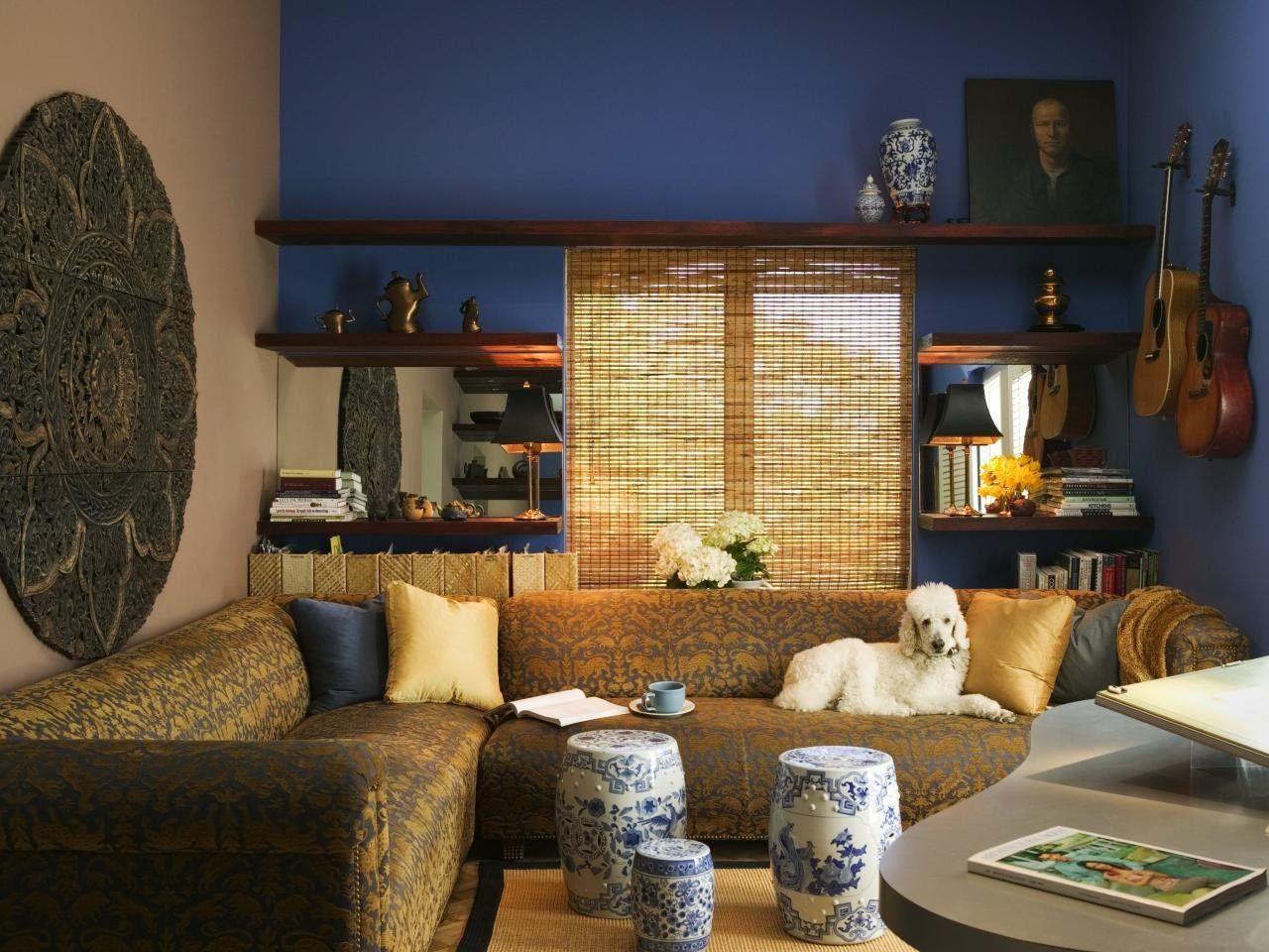 Orientalisch modernen Wohnzimmer Deko-Ideen Eleganten asiatischen