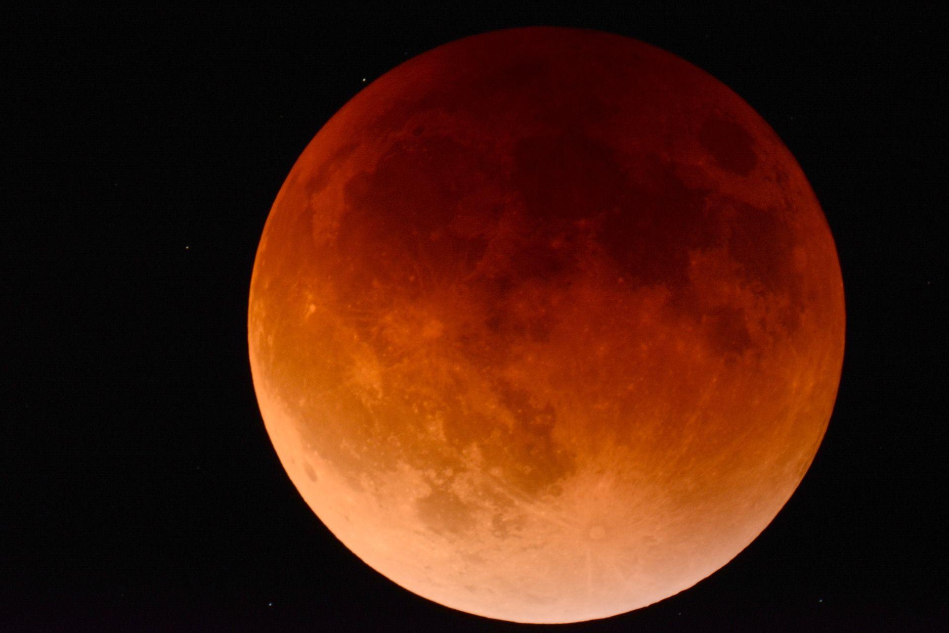 21++ Why does the moon look orange tonight ideas
