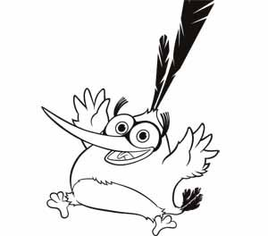 Bubbles Angry Birds Coloring Sheets Bird Coloring Pages Angry