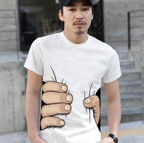 Camiseta Criativa.