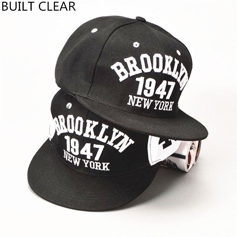 BUILT CLEAR) snapback Brooklyn-style gorras cap, baseball cap ...