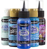 Decorating Americana Gloss Enamels - For Painting Over