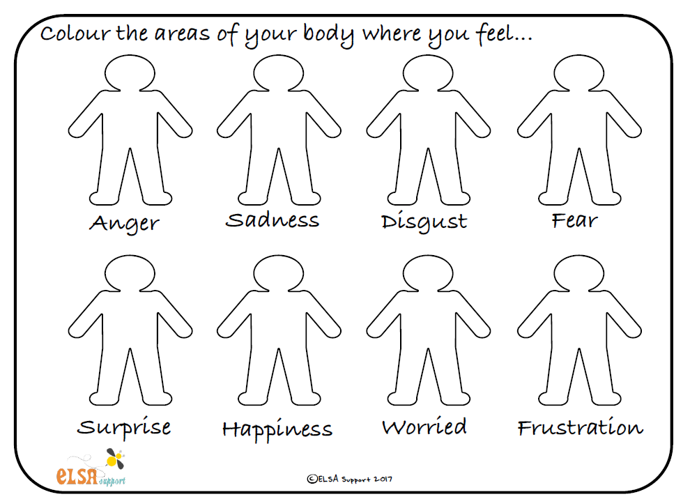 Colour your feelings - Elsa Support | Counseling: munchkins | Pinterest