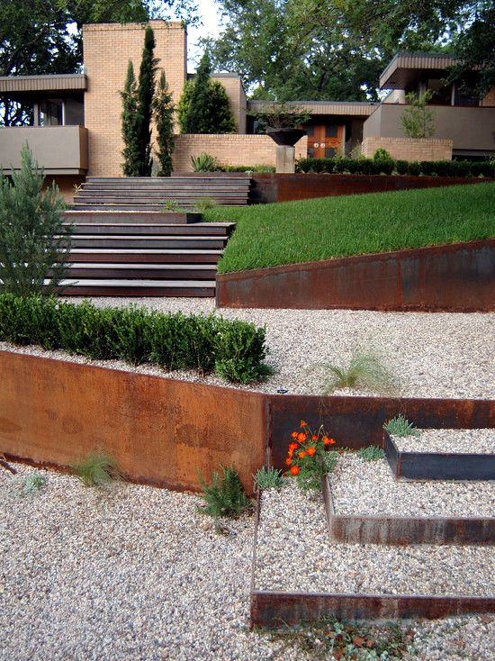 79 Ideas To Build A Retaining Wall In The Garden Slope Protection