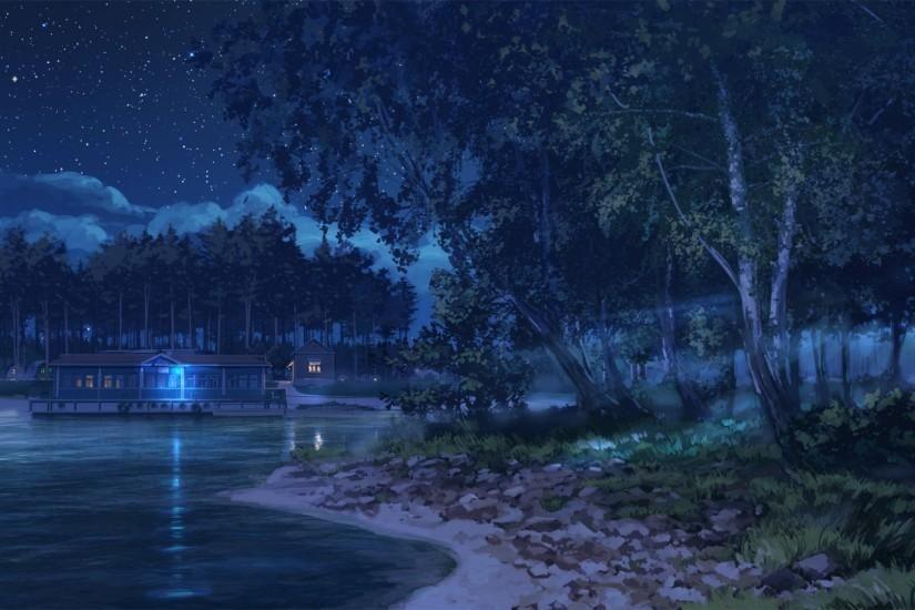 Beautiful Anime Scenery Wallpaper 1920x1080 Dark Landscape Scenery Wallpaper Anime Scenery