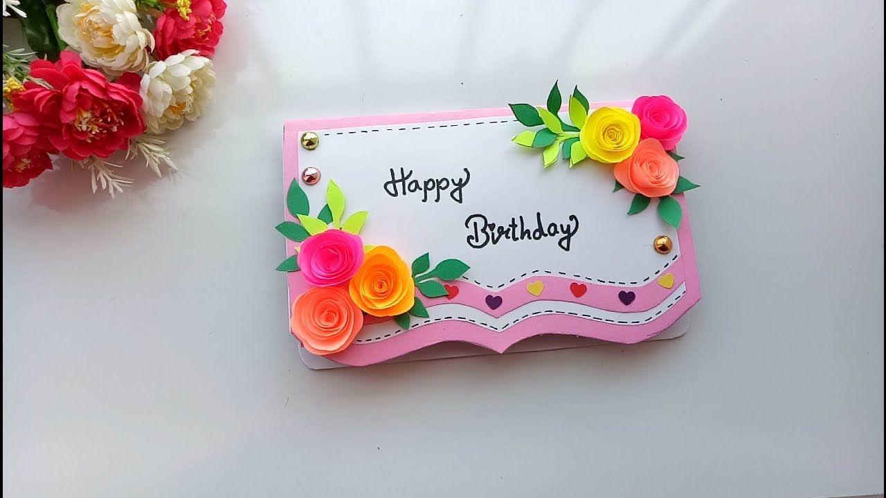 Beautiful Handmade Pop Up Birthday Card Birthday Card Idea