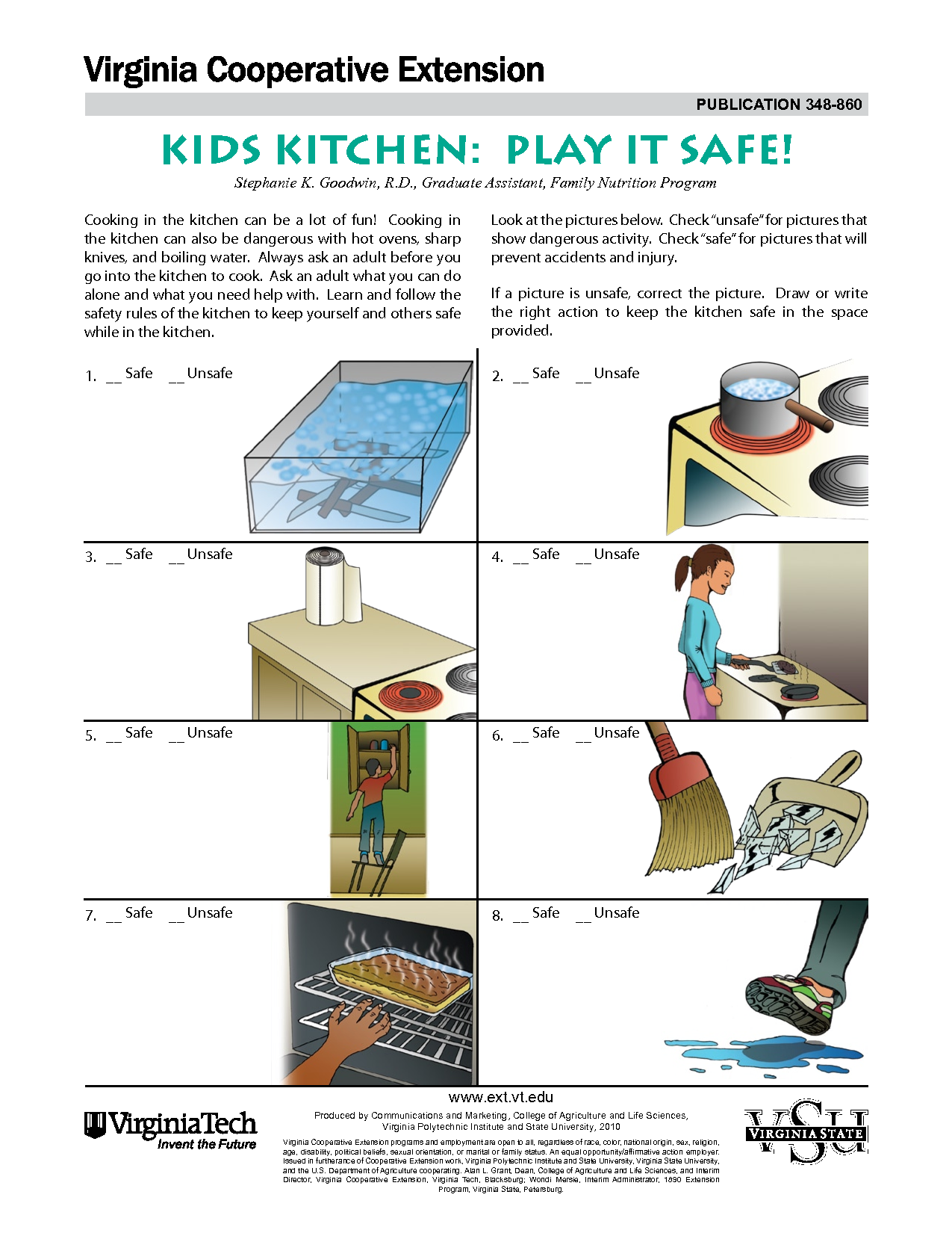 Unsafe Kitchen Pictures