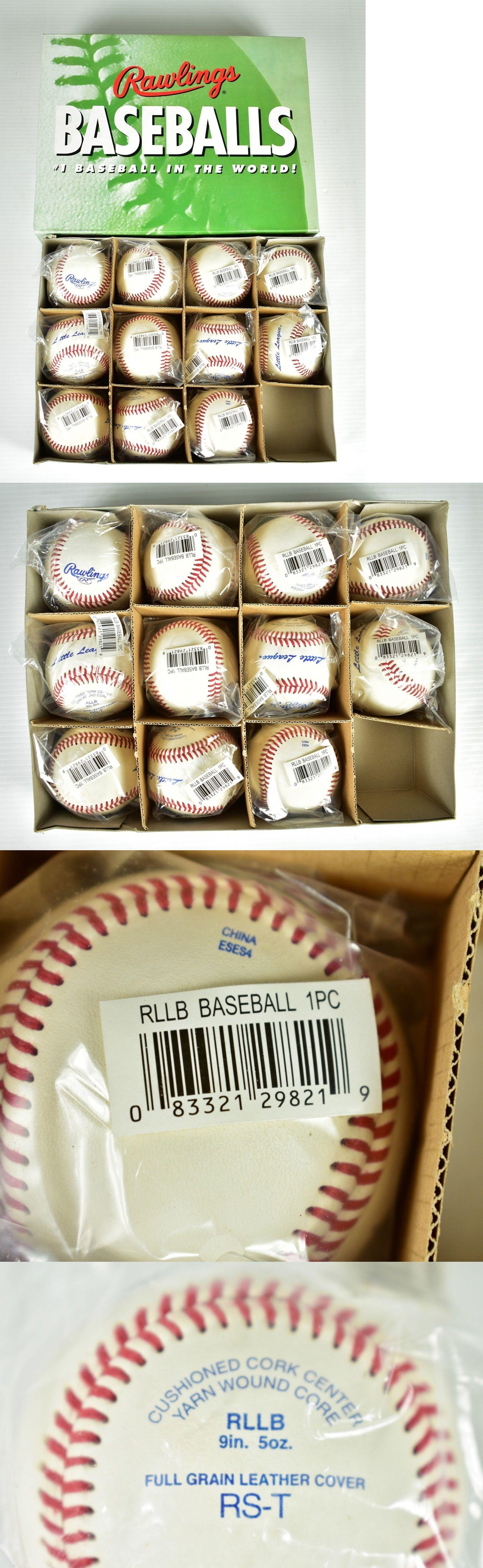 Baseballs 73893: Brand New Rawlings Rllb (Little League