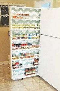 Kitchen storage. Actually this whole site is awesome.