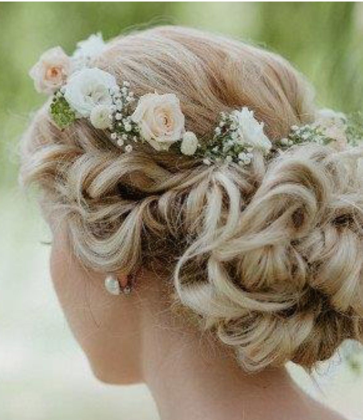 Wedding Flowers Crown For Fine Hairstyle: Favourite Wedding Hairstyles