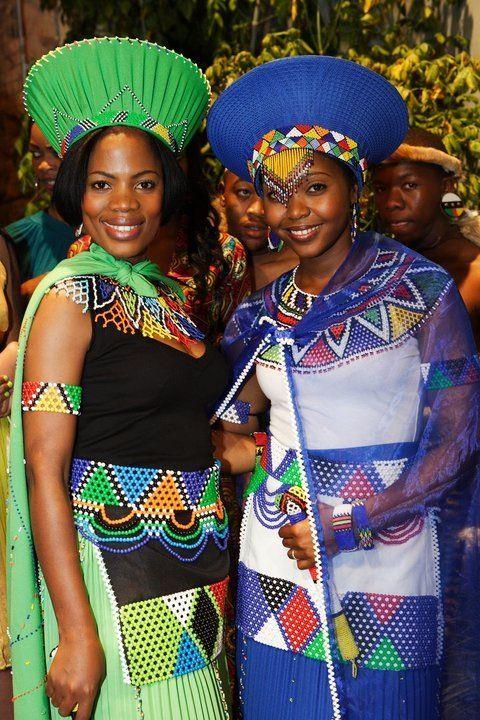 zulu traditional wedding attire