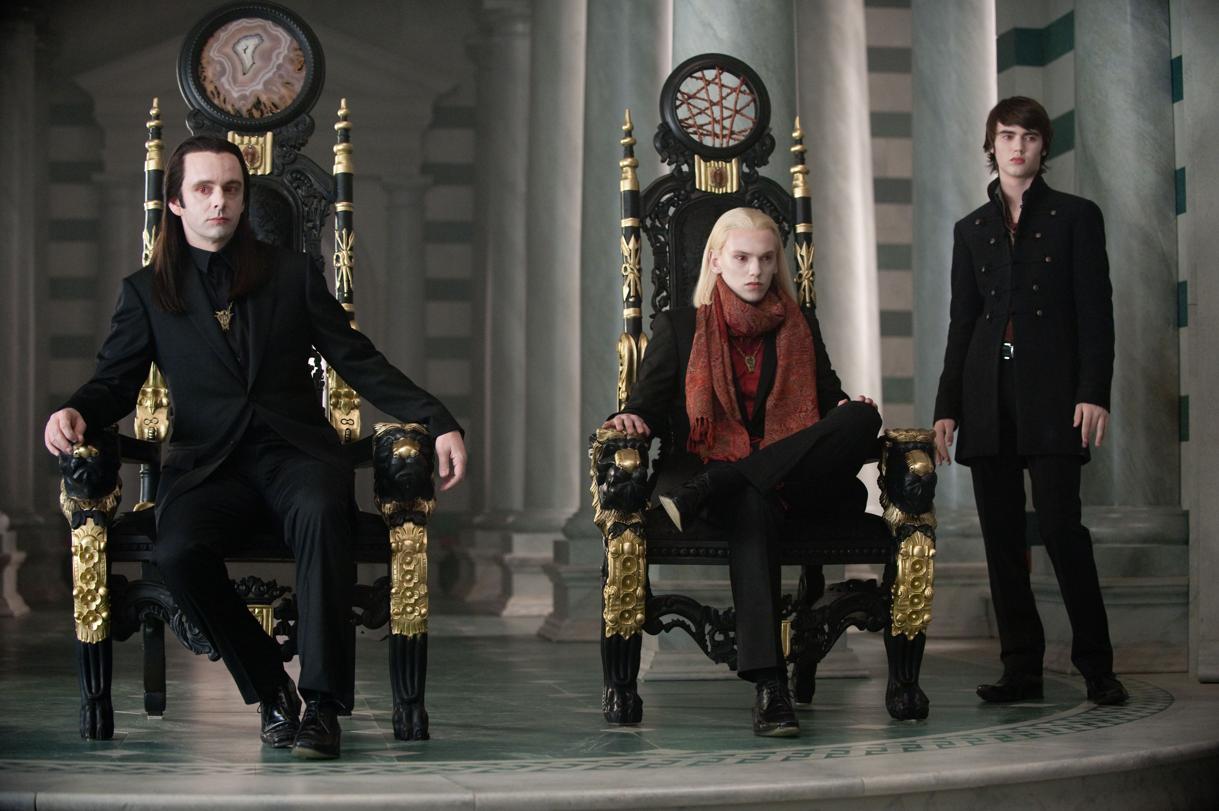 The Volturi voice their concerns about Bella and Edward