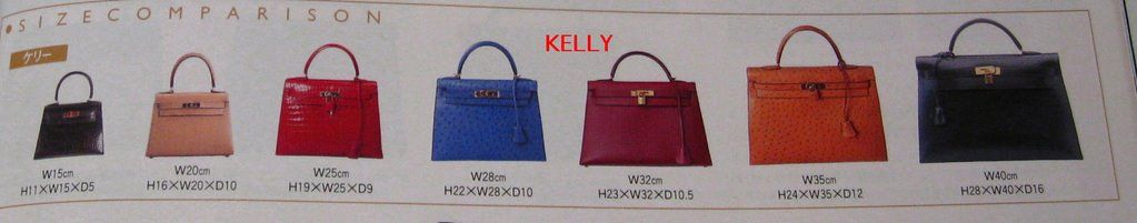 Hermes Kelly Size Chart Hermes Kelly Personal Style Pocket Book