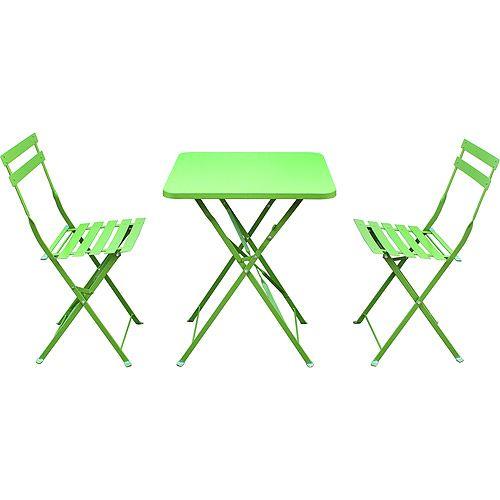 St. Germain 3-Piece Outdoor Bistro Set, Seats 2: Patio Furniture : Walmart.com