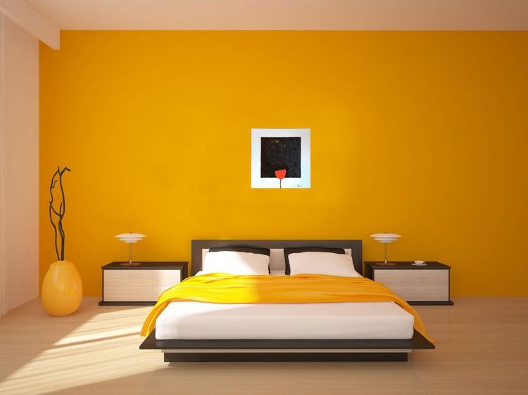 In Memories Of The Black Square By Kazimir Malevich 2016 Oil Painting By Roman Sergienko Yellow Bedroom Walls Living Room Paint Asian Paints Wall Designs