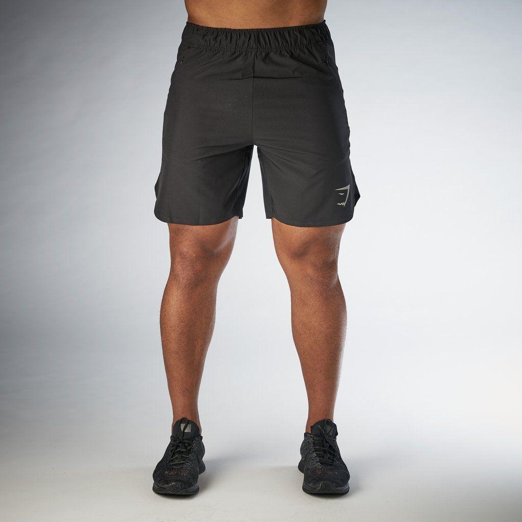 Gymshark Perforated Shorts - Black at Gymshark