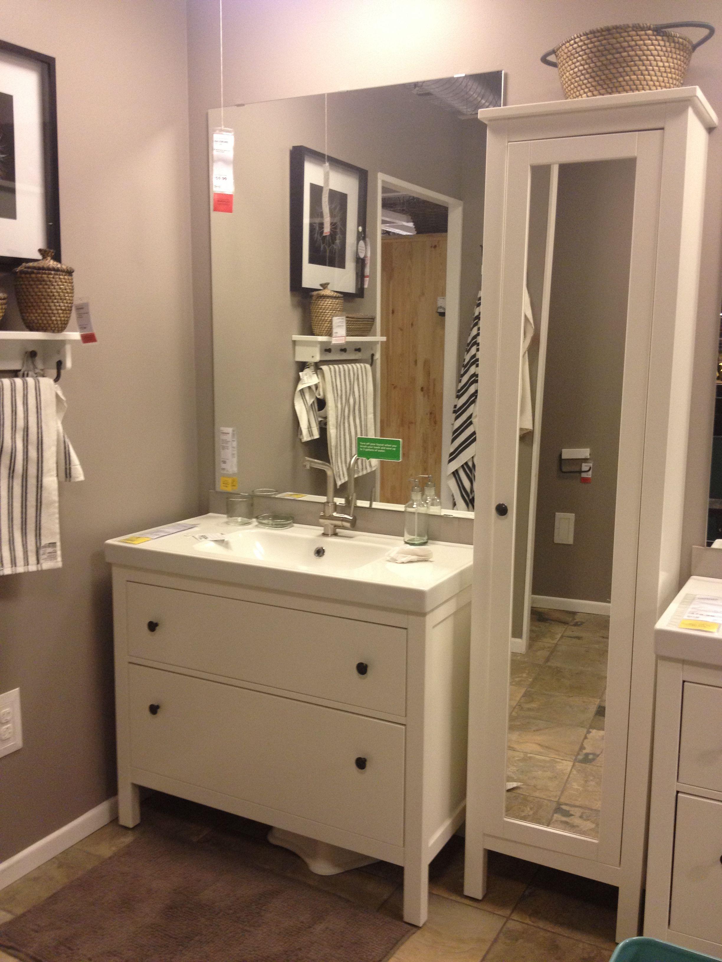 ikea for small bathroom | Ikea bathroom, Laundry in ...