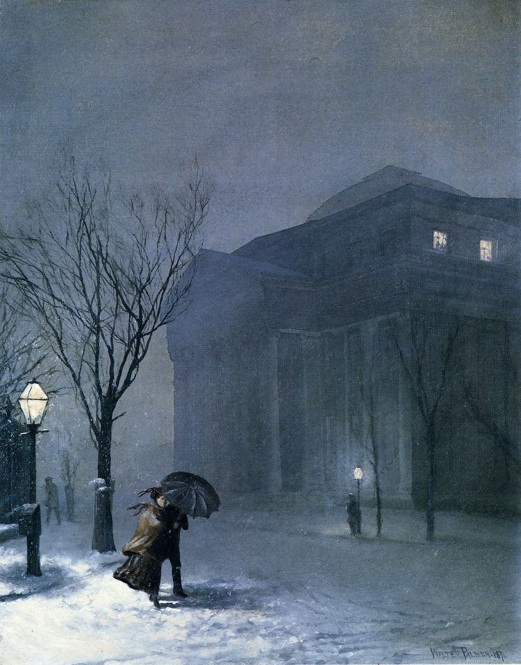 Albany in the Snow (1871) - Walter Launt Palmer. | Art - Painting ...