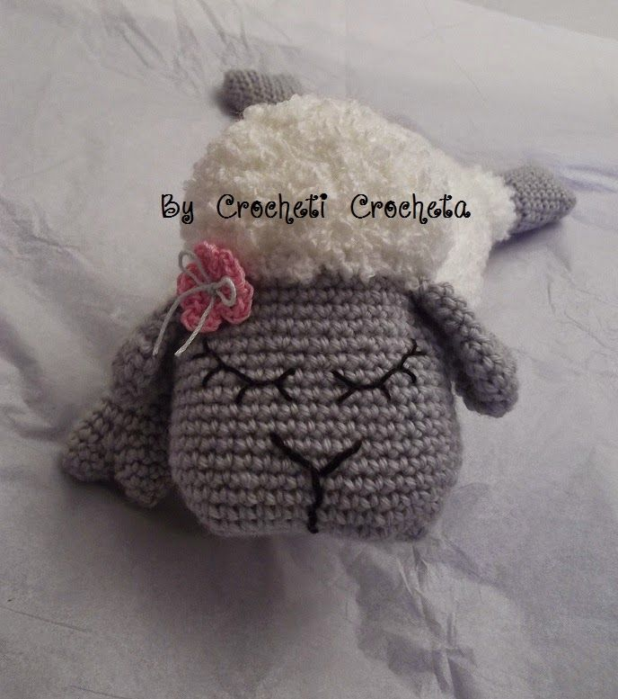 Crocheti... Crocheta...: Rustine, la brebis