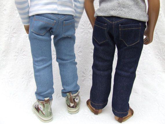 Skinny Fit Denim Jeans for 16/17 Sasha Gregor by APassionforSasha