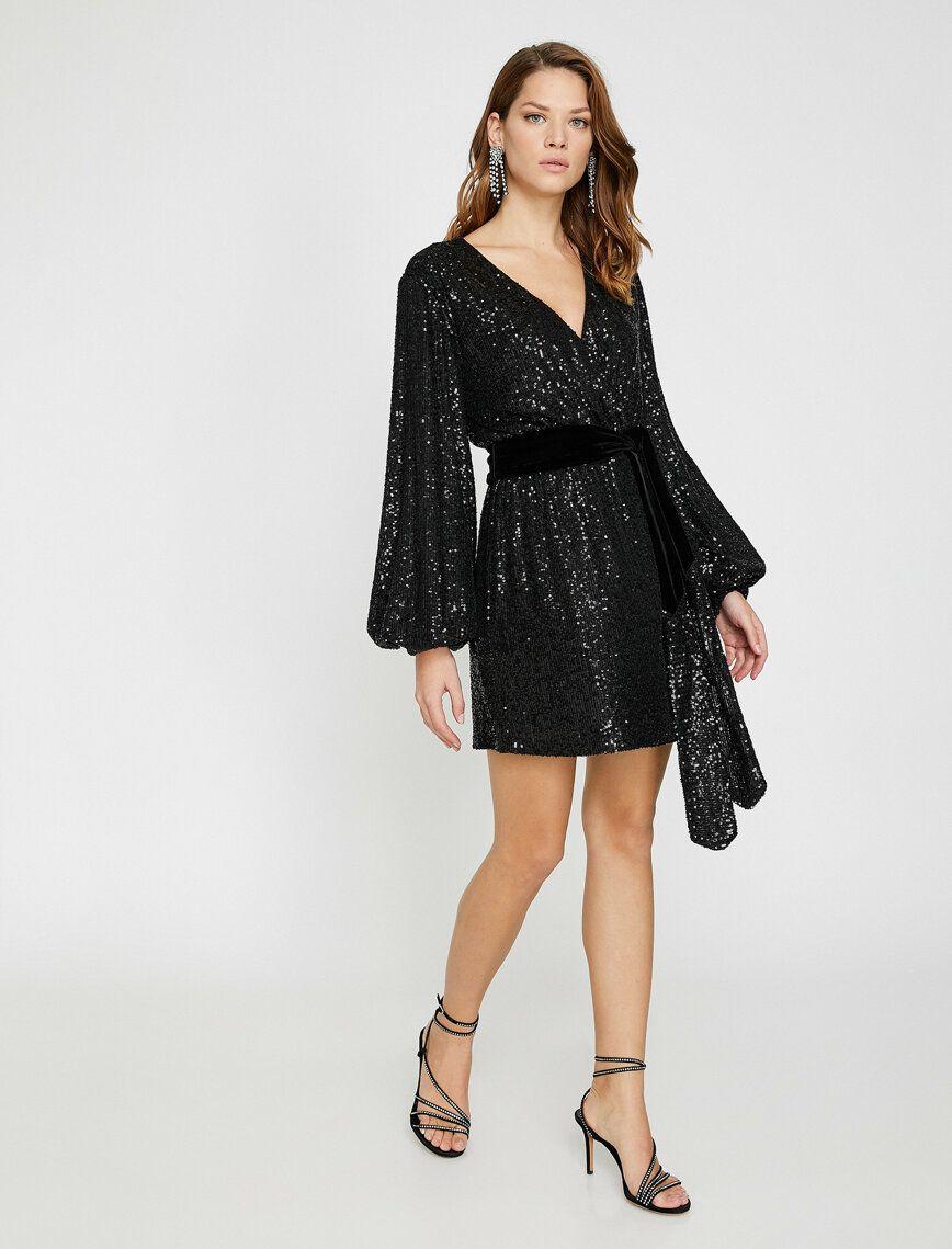 Arzu Sabanci For Koton Elbise Midi Elbise Elbise Elbise Modelleri