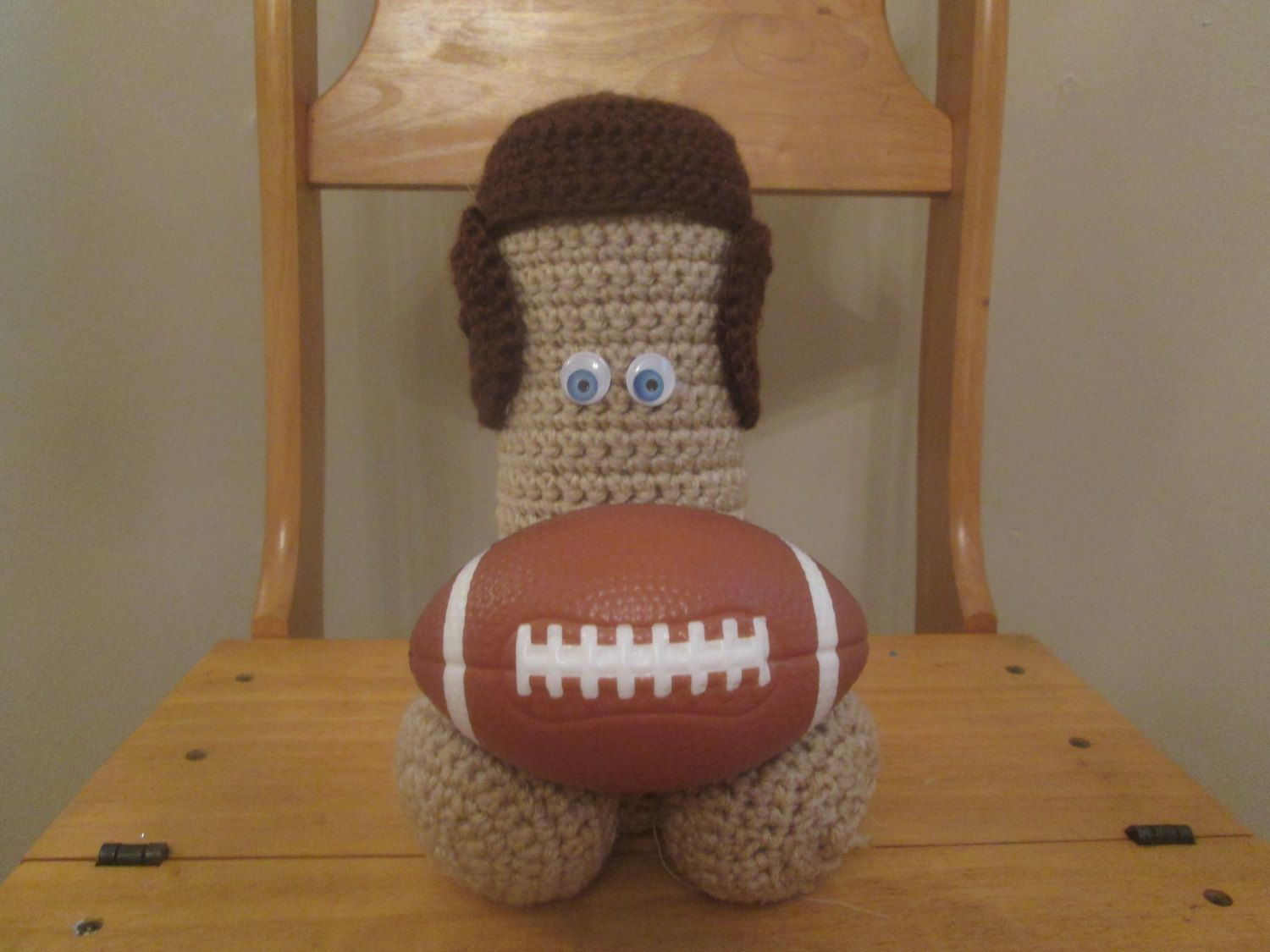 Man Cave Gag Gifts : Football penis fan gag gift man cave decor