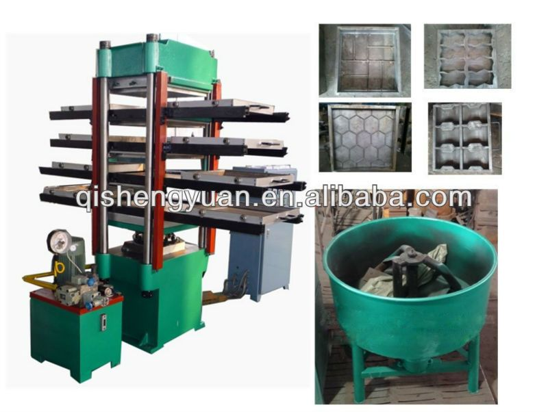 Rubber Tile Making Machine Is Used To Make Various Types Of Floor