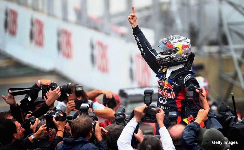 Bravo! Sebastian Vettel 2012 F1 World Champion