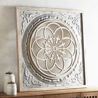 Floral Capiz Mosaic Wall Panel Medallion Wall Decor Diy Wall Decor Wall Decor