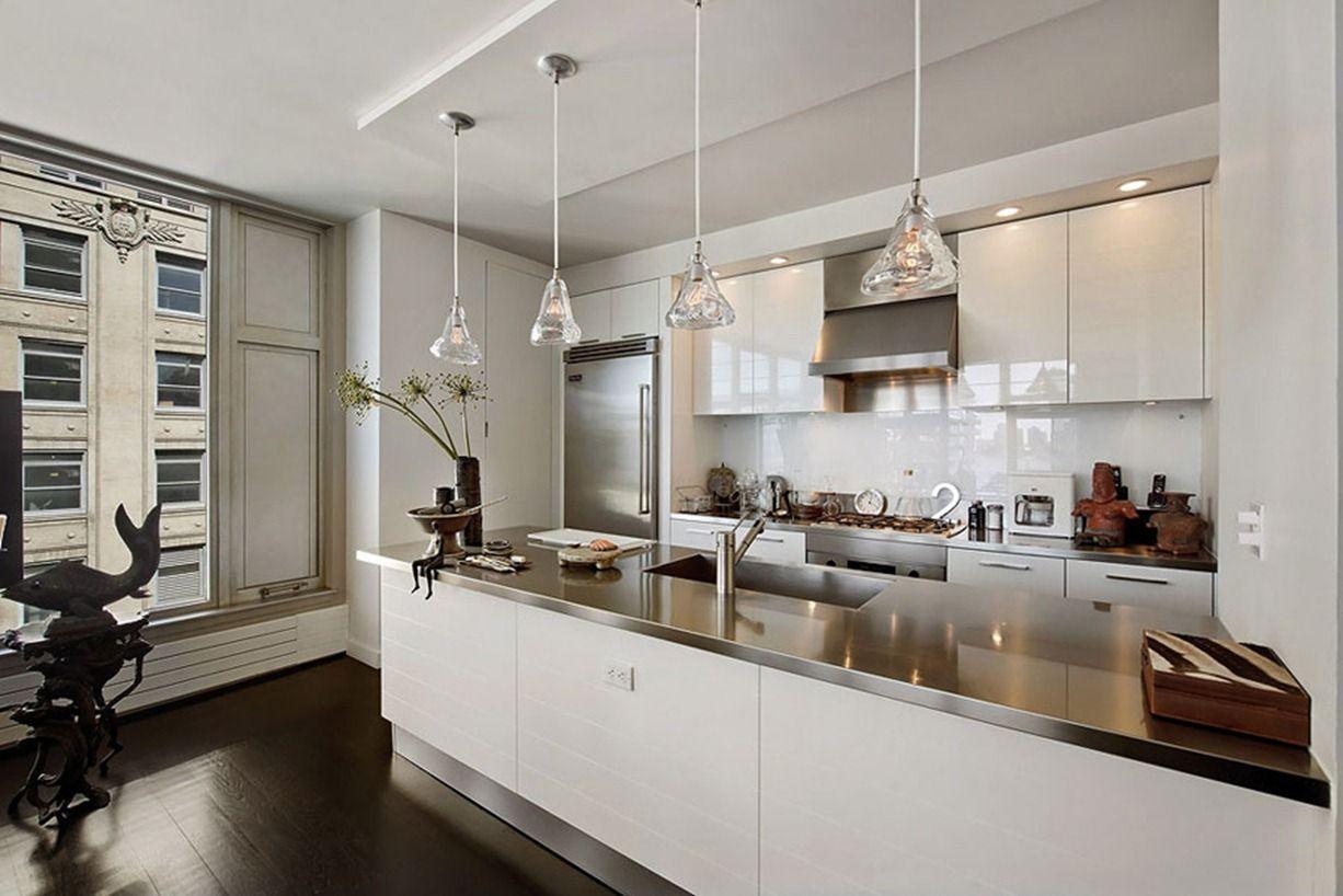 Diseño en New York - Cocina abierta al salón | APARTAMENTOS ...