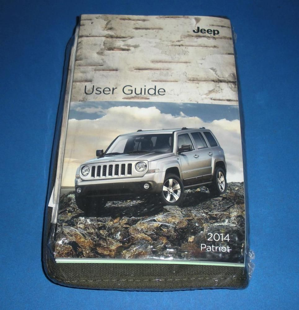 2014 Jeep Patriot Owners Manual Book Guide Set Jeep Patriot Jeep