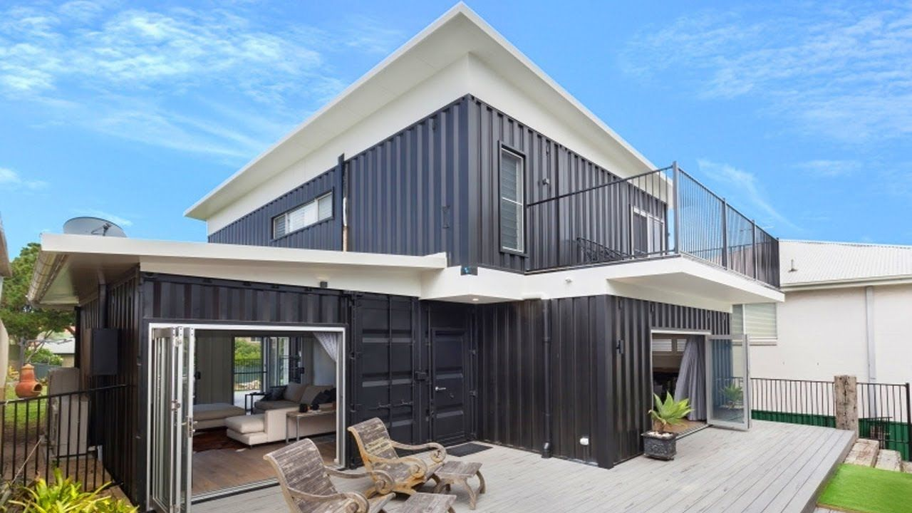 Incredible Luxury Cronulla 2 Story Container Home Built From 8 20ft And .