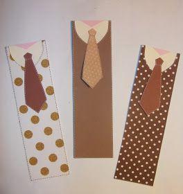 cartoncino mio: 4. Una cravatta segnalibro