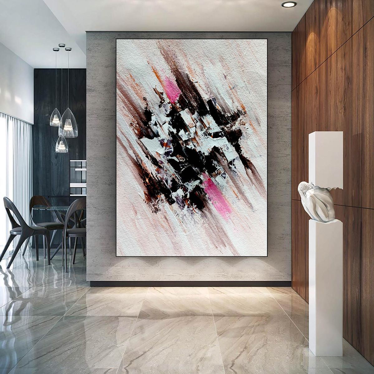 Abstract Painting On Canvas Large Size Painting Canvas Art Modern Decor Handmade Painting In 2021 Abstract Painting Painting Abstract Art Painting