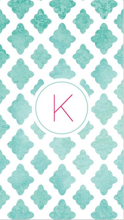 k in quotblue quatrefoilquot phone wallpaper iphone wallpaper