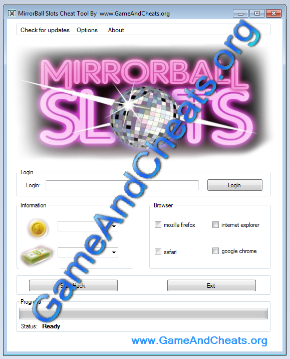 MirrorBall Slots Cheat tool Cash and Coins http