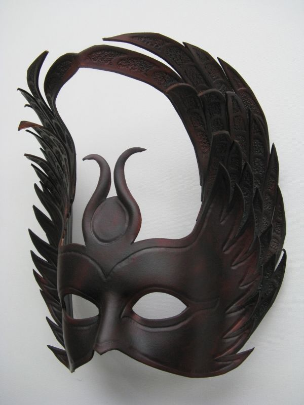 Isis - Leather Mask. by xothique.deviantart.com · Raven MaskFox MaskHalloween ... & Isis - Leather Mask. by xothique.deviantart.com   Seeker   Pinterest ...