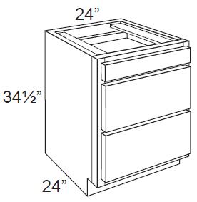 Aspen White Shaker 24 Drawer Base Cabinet Kitchen Cabinet Remodel Base Cabinets Reclaimed Wood Kitchen