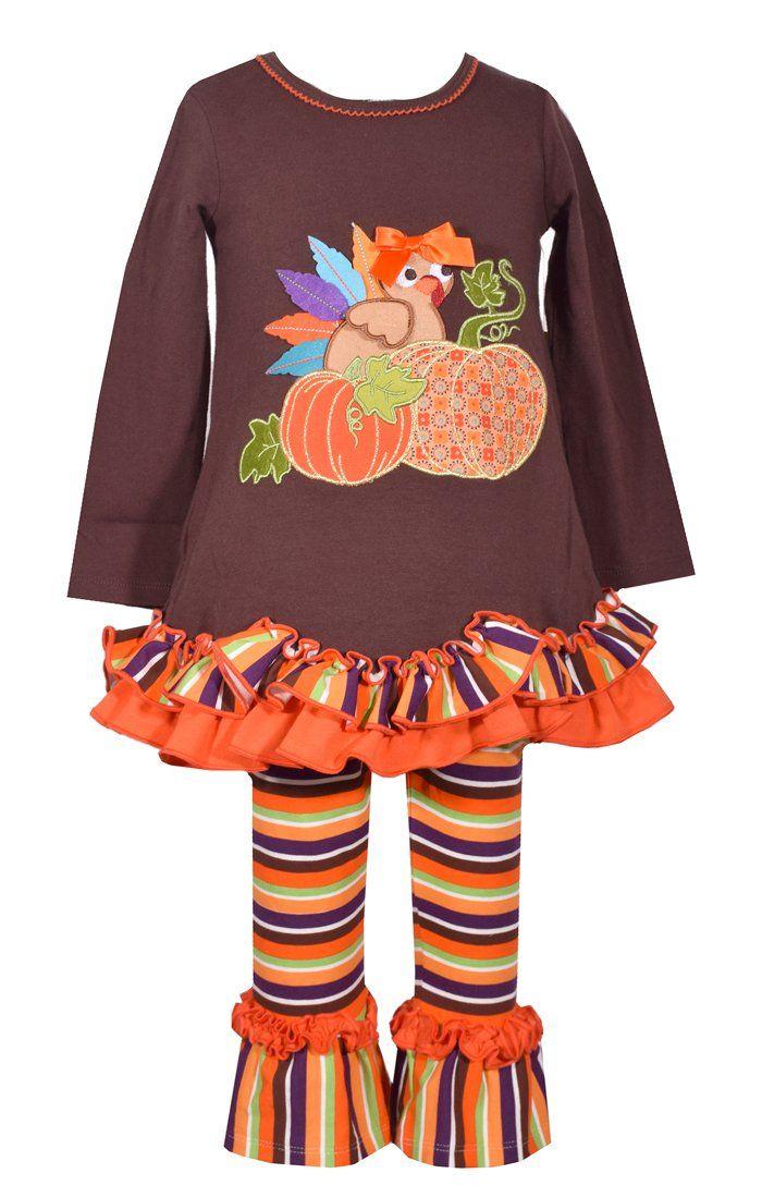 84377dd56ff Bonnie Jean Turkey legging set