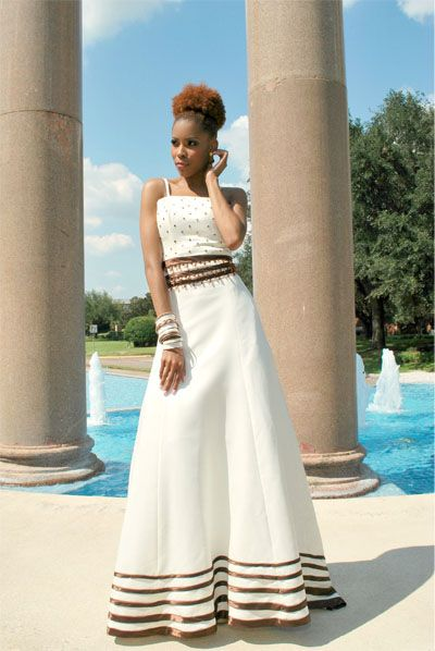 couture wedding gown Queen Manta Tisi of South Africa gown | F:FaF ...