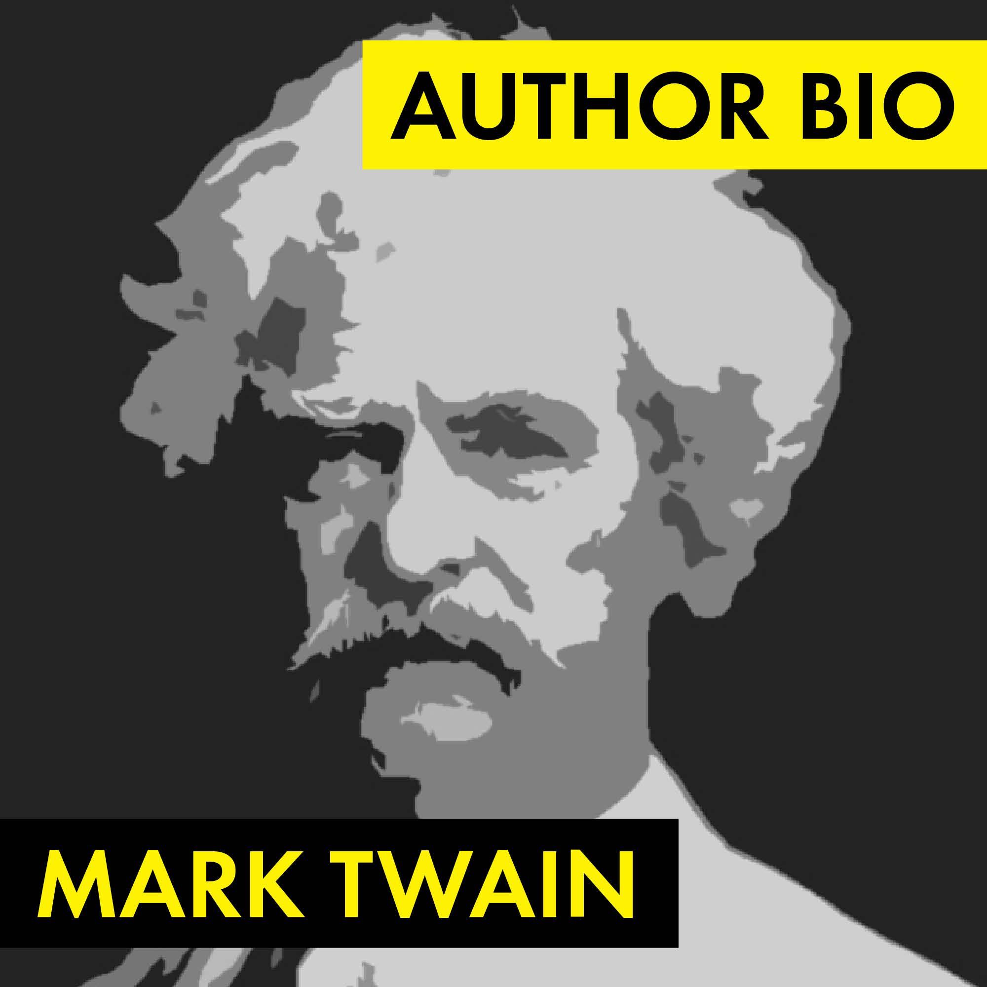 Mark Twain Author Study Worksheet Easy Biography Activity