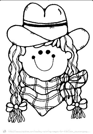 Cowgirl Farm Coloring Pages Coloring Pages Pattern Coloring Pages